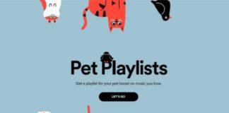 Ahora Spotify te ofrece las Playlists para mascotas