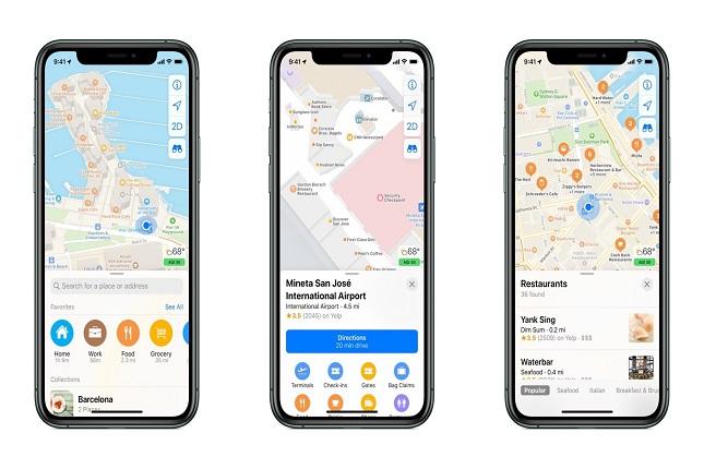 Apple mejora su aplicación de mapas para lanzarla en Europa este año