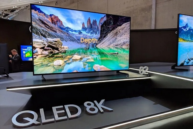 Samsung presenta su nueva serie de televisores QLED 8K en Europa