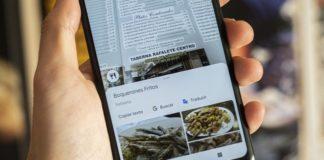 Google Maps mencionará los platos más populares con las funciones de Lens