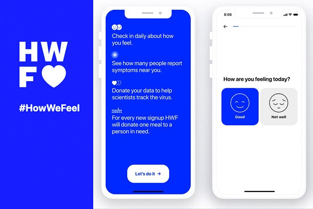 Pinterest lanza How We Feel, una app de autodiagnóstico del Covid-19