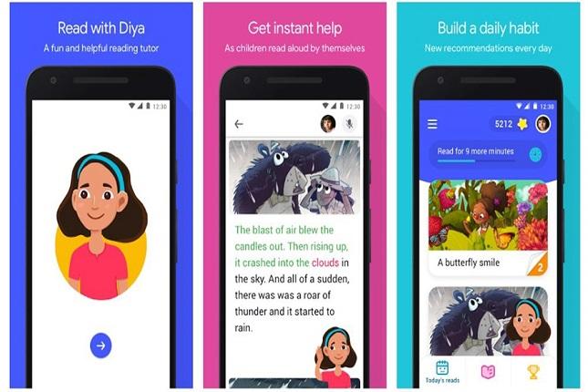 Google lanza su app Read Along para mejorar lectura de los niños