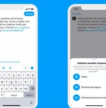 Twitter permite que escojas quién responde a tus tuits