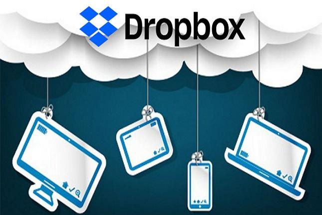 Dropbox permite crear un espacio compartido familiar
