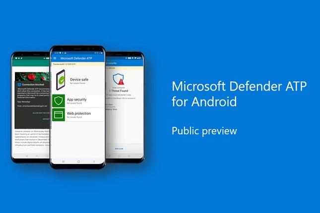 El antivirus Defender ATP de Microsoft aterriza en los móviles Android
