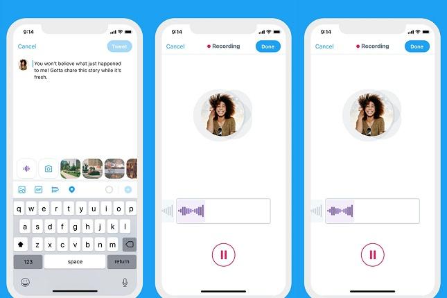 Twitter permite crear tuits de voz de hasta 140 segundos en iOS