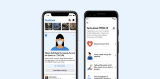 Facebook desacredita los mitos del coronavirus con una nueva sección