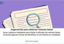 Facebook enseña a sus usuarios a detectar las noticias falsas