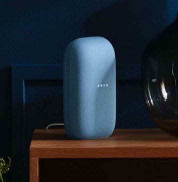 Google da a conocer el diseño de su nuevo altavoz inteligente Nest