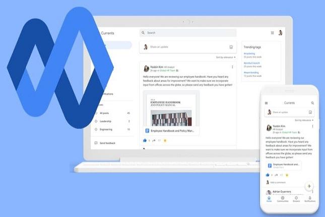 Google presenta su nueva red profesional Currents en sustitución a Google+