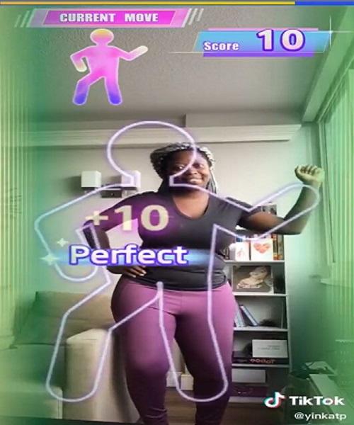 TikTok añade el filtro Gamified Branded Effect