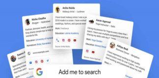 Ahora cualquier persona podrá aparecer en los resultados de búsqueda de Google