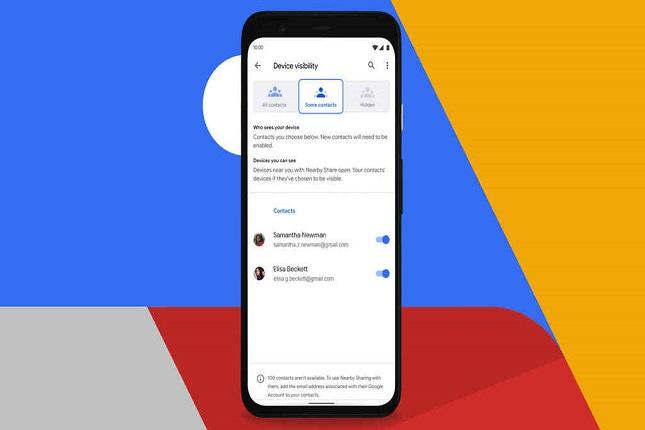 Cómo enviar archivos sin gastar datos con Google Nearby