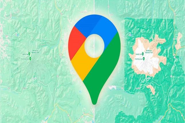 Google Maps mejora la visualización con pasos de peatones y fondos coloridos