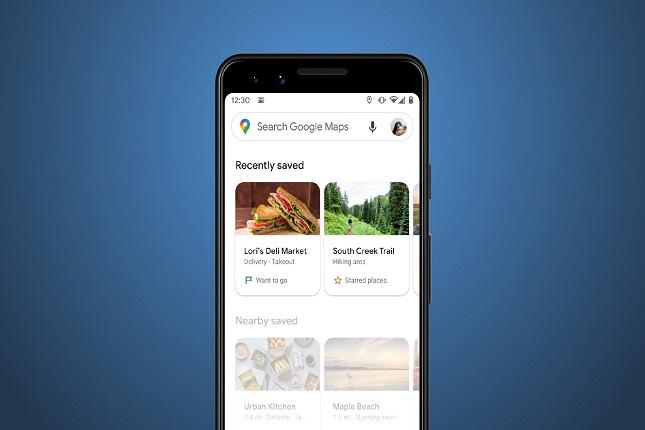 Google Maps sitios guardados
