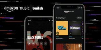 Amazon Music se alía con Twitch para lanzar vídeos en streaming