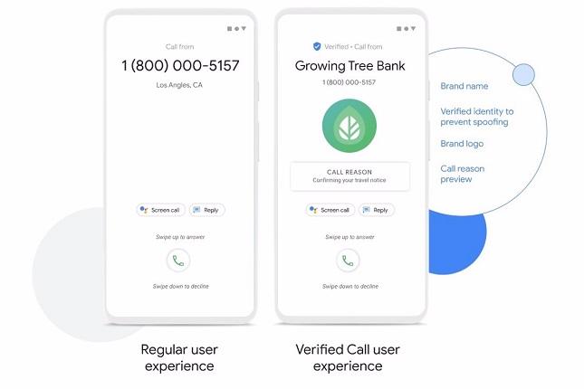 Teléfono de Google incorpora la función de llamadas verificadas, que incluye el motivo de cada llamada