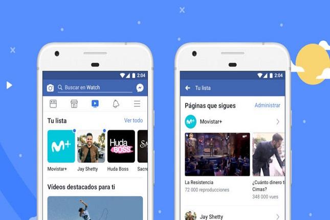 Facebook Watch consigue una audiencia de 1.250 millones de personas