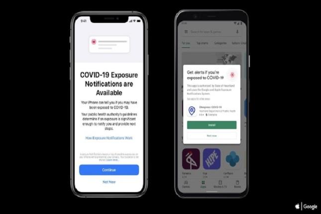 Google y Apple ofrecen nuevo sistema de notificaciones sobre COVID-19