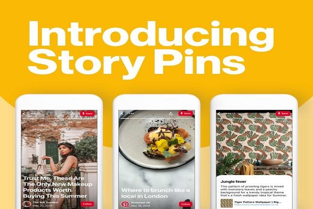 Story Pins, las nuevas historias no efímeras de Pinterest