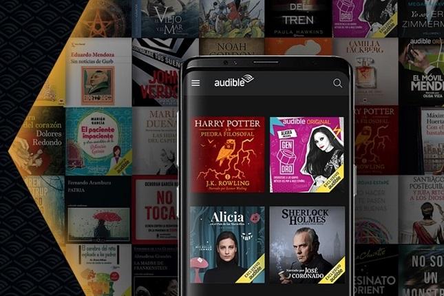 Amazon introduce Audible en España