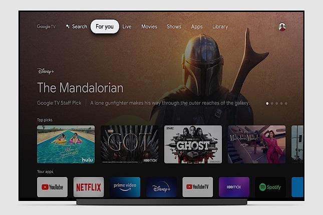 Google TV ahora disponible en tu televisión con Android TV