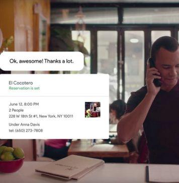 Google desarrolla Duplex para comprar productos o pedidos de comida