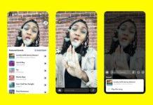 Snapchat para iOS añade canciones en las publicaciones