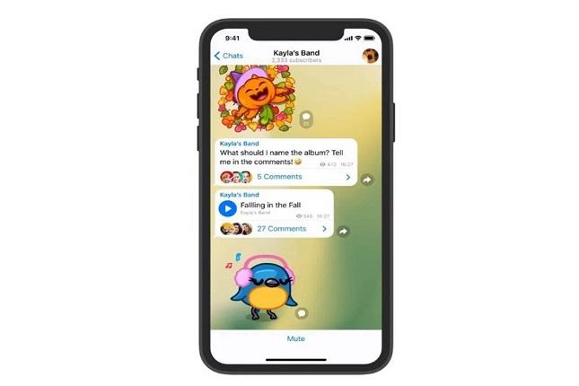 Telegram añade nuevas funciones