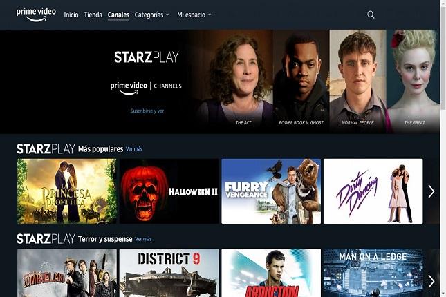 Amazon Prime Video Channels aterriza en España ofreciendo nuevas plataformas