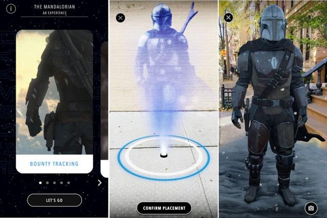 Google crea nueva experiencia de realidad aumentada con The Mandalorian