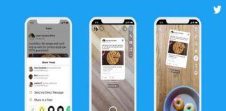 Twitter ahora permite compartir los tuits en Snapchat