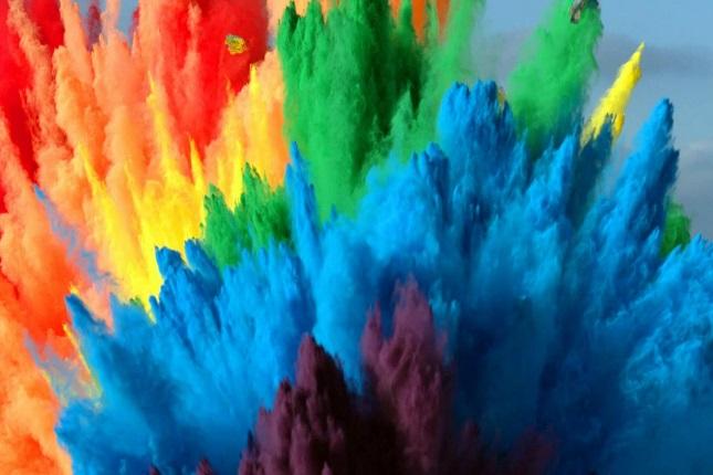 colores llamativos