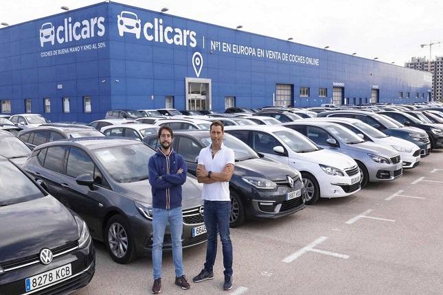 Clicars, la startup líder en ventas de coches de segunda mano en España