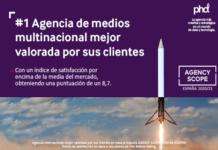 PHD, la agencia de medios mejor valorada por sus clientes