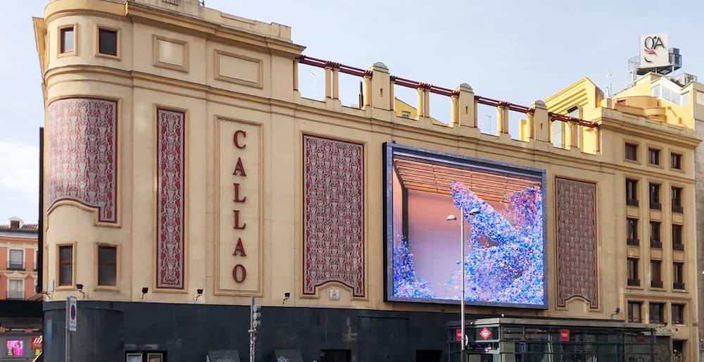 pantallas Callao city Lights