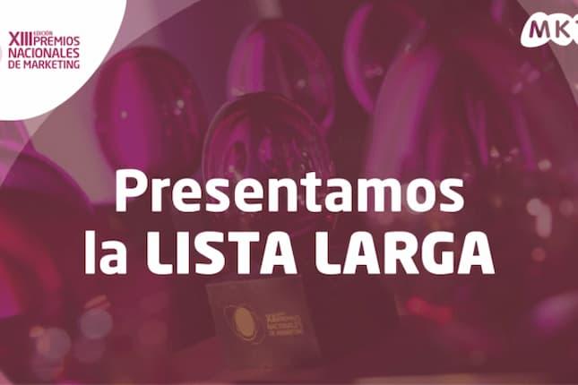 La Asociación de Marketing de España presenta la Lista Larga de sus Premios Nacionales