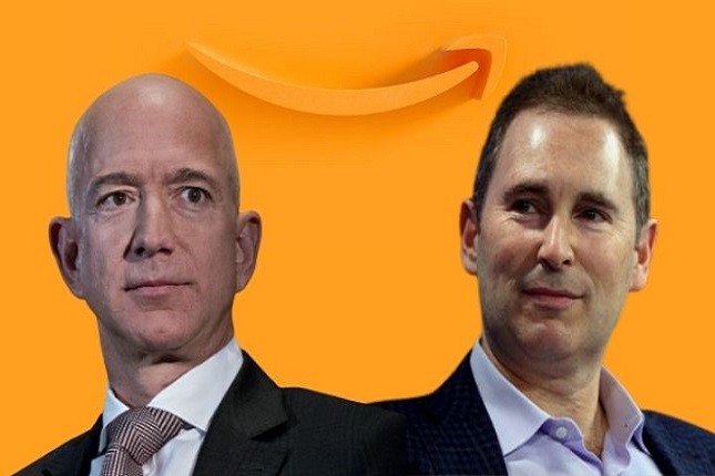 Andy Jassy releva a Jeff Bezos como CEO de Amazon