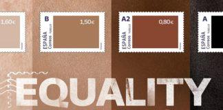 Correos conciencia sobre la desigualdad racial con sus sellos Equality Stamps