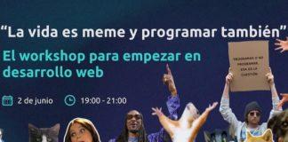 """""""La vida es un meme y programar también"""", próximo workshop de ID Bootcamps"""