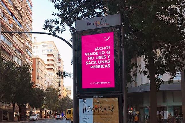 Cash Converters lanza una campaña con expresiones muy murcianas para promover entre sus ciudadanos un consumo consciente