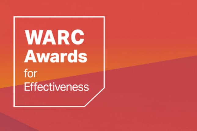 Los premios WARC a la Eficacia anuncian su lista corta