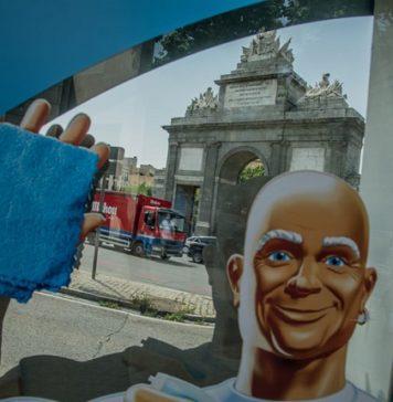 Don Limpio arrasa las calles de Madrid con su nueva campaña