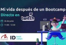 ID Bootcamps presenta su evento en Twitch 'Mi vida después de un bootcamp'