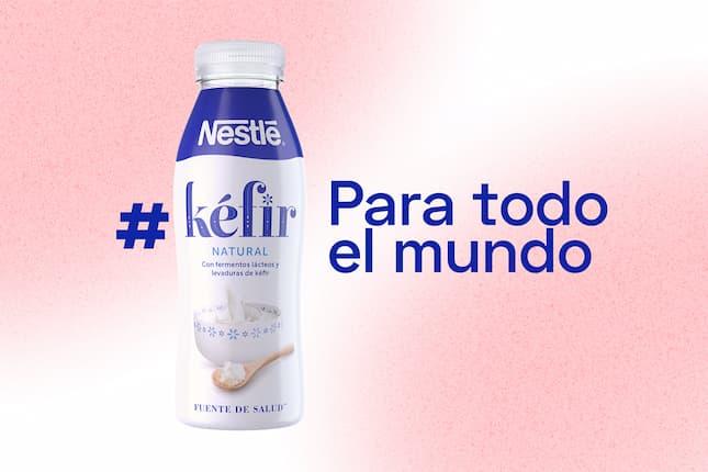 """Nestlé democratiza el consumo de Kéfir en su campaña """"Para todo el mundo"""""""