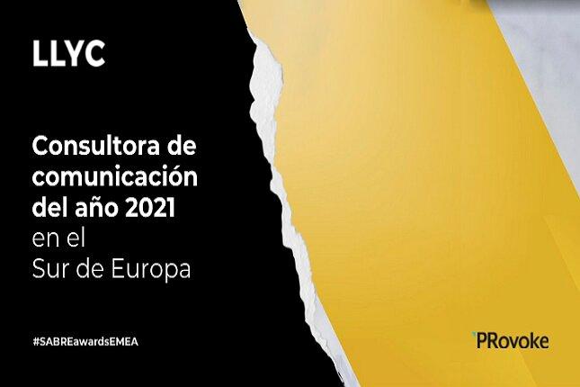 LLYC, seleccionada como Consultora del Año en el Sur de Europa