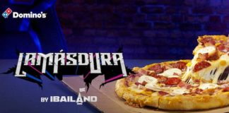 """Ibai Llanos crea """"La más dura"""", la nueva pizza de Domino's"""
