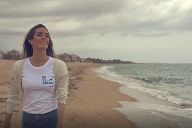 Ona Carbonell amadrina el proyecto 'Save The Oceans' promovido por La Sirena