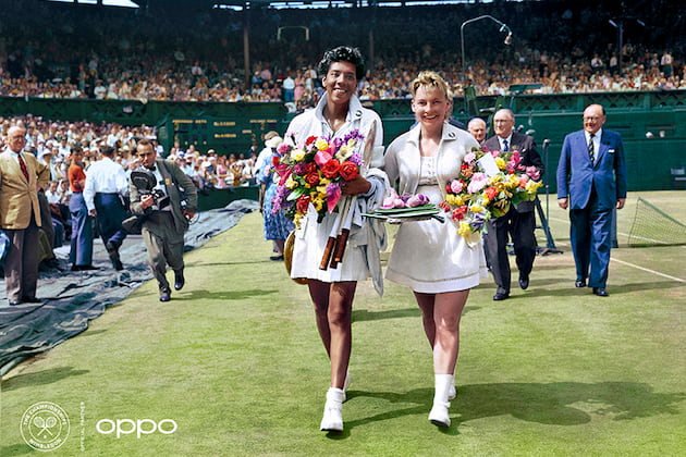 Althea Gibson & Darlene Hard_OPPO Courting the Colour rec