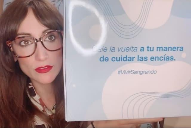 Ana Morgade protagoniza la campaña 'Vivir sangrando'